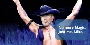 Magic Mike. Bloomberg, the Male Stripper