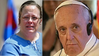Pope Francis Flew over a Conscientious Objector