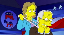 An American Dynasty: Simpsons, Clintons, what's the difference!