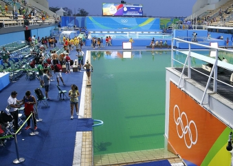 The Olympic Water Ain't Green. Your Envy Is