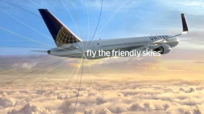 United Flies the Sky