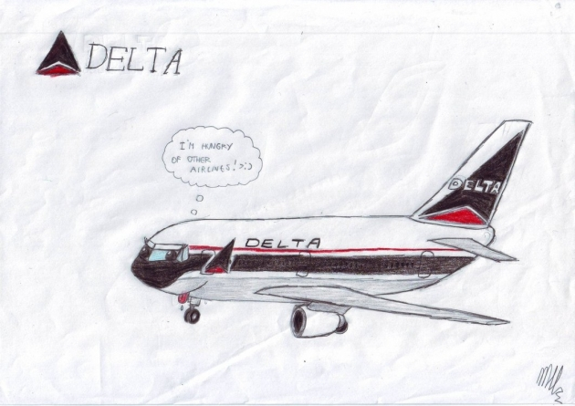 Delta Airlines Boarded the Friendly Skies