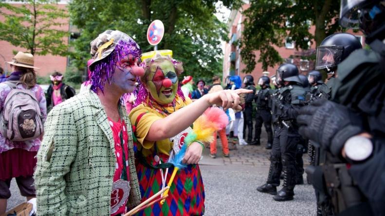 Shore's Ku Klux Klowns