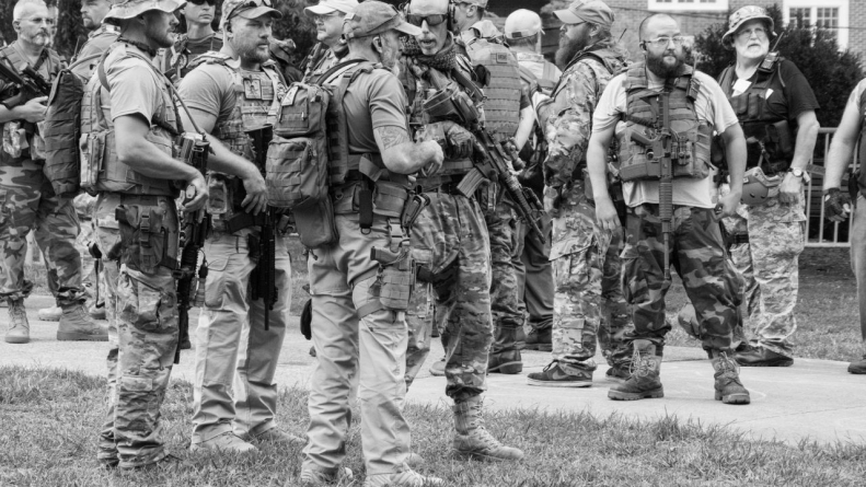 Gitlin's Words about Who Were Charlottesville's Armed Militiamen