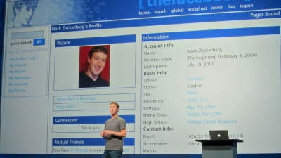 Gitlin's Fakebook inside the Facebook