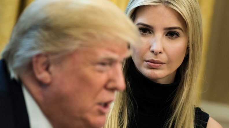 Wearing Clueless by Ivanka Trump
